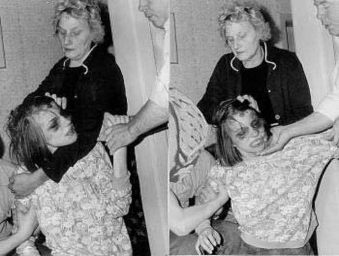 demonic posession anneliese michel Just like the woman who inspired the exorcism of emily rose, anneliese michel would become infamous for her tragic fight with demons.